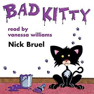 Bad Kitty audiobook cover art