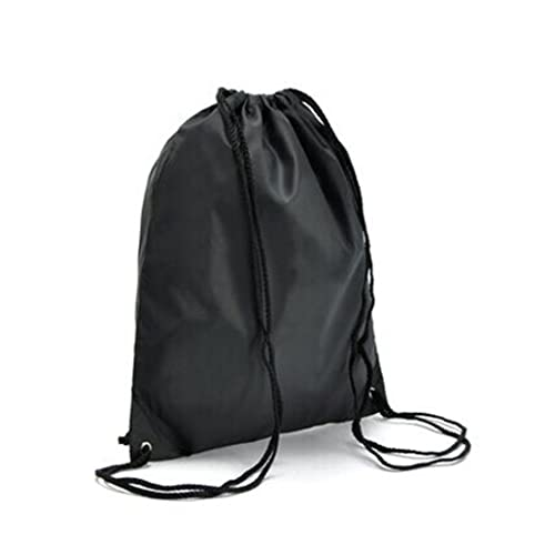 3051721ec00 Siniya®ye 2pcs Black Nylon Drawstring Backpack Waterproof Backpack Shoe Bag