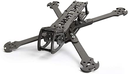 $41 Get 5'' Lawson FPV Battle Axe Freestyle Frame 250mm 5 Inch Carbon Fiber Quadcopter Frame Kit Multi Configuration