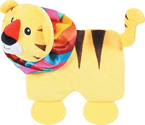 Zolux Square Tigre Circus Jouet Peluche pour Chien 10 x 25,5 x 21,5 cm