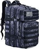 XIAO HUI Mochila táctica militar grande de 45 L Molle Outdoor Daypack (Python)