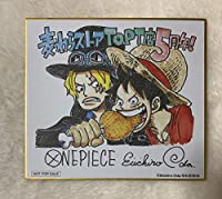 ワンピース 麦わらストア 東京ワンピースタワー店限定 描き下ろし 複製ミニ色紙 ルフィ&サボ