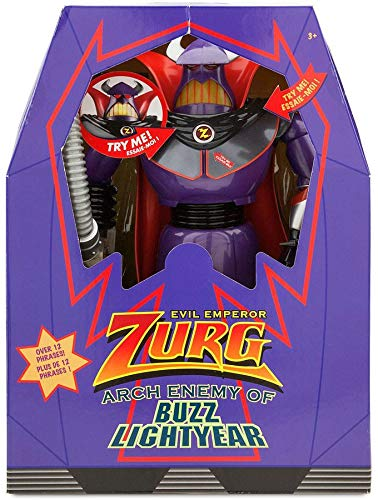 Disney Store Zurg action figure 37cm Toy Story 3 cattivo grande parla