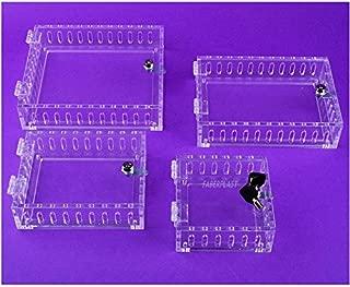 Faberplast Caja de Seguridad Termostato Plano, Metacrilato, 16x14x3.5 cm