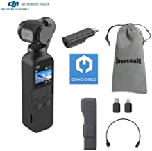 DJI Osmo Pocket Gimbal 3-Axis Stabilized Handheld Camera with Osmo Shield