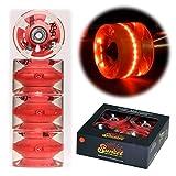 Best Wheels For Longboards - Sunset Skateboard Co. 65mm 78a LED Light-Up Longboard Review