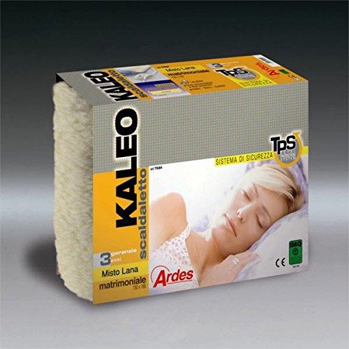 Scaldaletto matrimoniale misto lana Ardes Kaleo TK84
