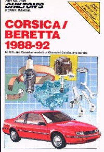 CH7849 Chilton Chevrolet Corsica and Beretta 1988-1992 Repair Manual
