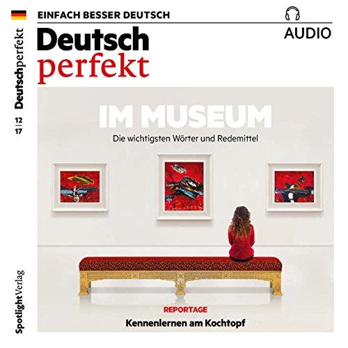 Deutsch perfekt Audio. 12/2017 audiobook cover art