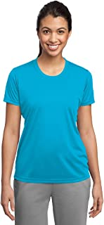 Dri-Wick Women's Sport Performance Moisture Wicking Athletic T Shirt