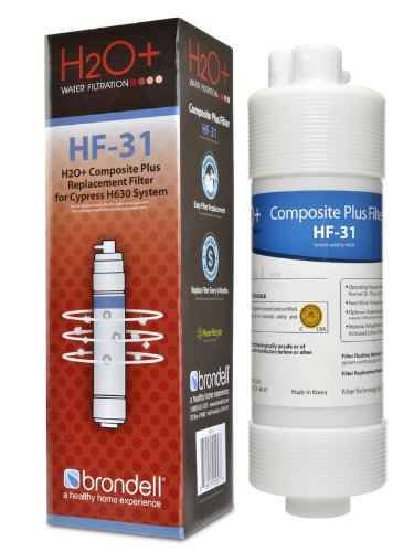 Brondell H2O+ Cypress Composite Plus Water Filter (HF-31)