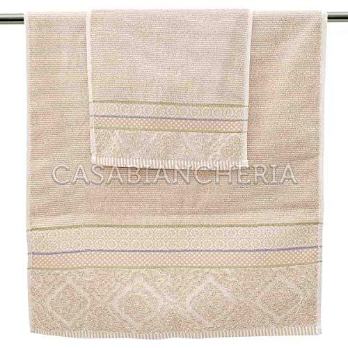 PiP Studio Handtuch aus Frottee Soft Zellige beige