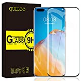 QULLOO Panzerglas für Huawei P40 Pro, 9H Hartglas Schutzfolie HD Bildschirmschutzfolie Anti-Kratzen Panzerglasfolie Handy Glas Folie für Huawei P40 Pro