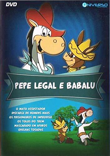 DVD Duplo Wally Gator + Pepe Legal