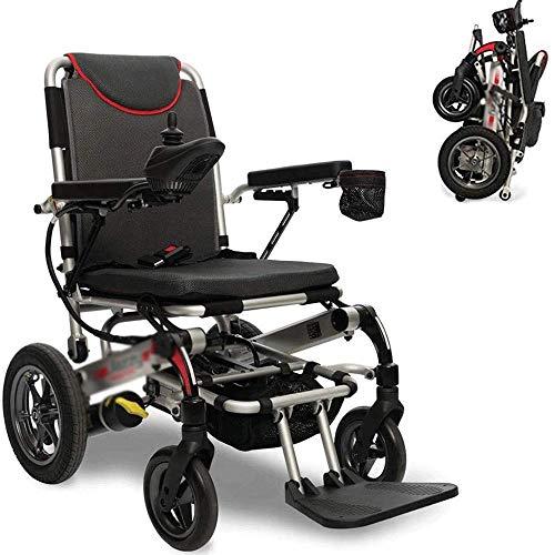 Wheelchair,Electric Wheelchair Intelligent Automatic Folding Lightweight Elderly Scooter Elderly Disabled Lithium BatteryWheelchair