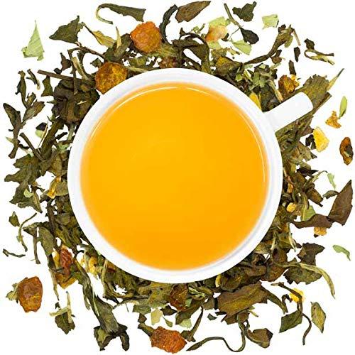 Organic Lemon Turmeric Loose Leaf Tea - 2oz Bag (Approx. 30 Servings) | Full Leaf Tea Co.