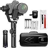 Zhiyun Tech Crane 2 Estabilizador Manual para cámara Negro - Estabilizadores de Video (Estabilizador Manual para cámara, Aluminio, Polyblend, Negro, 1/4', Universal, Motor sin escobillas)
