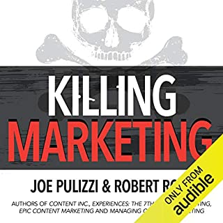 Killing Marketing audiobook cover art