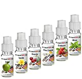 6x 10ml E-Liquid No. 531 HQ 6er Mix -Deutsche Produktion- Apfel, Vanille, Kirsche, PinaColada, Erdbeere, Minze - 0,0mg Nikotin -