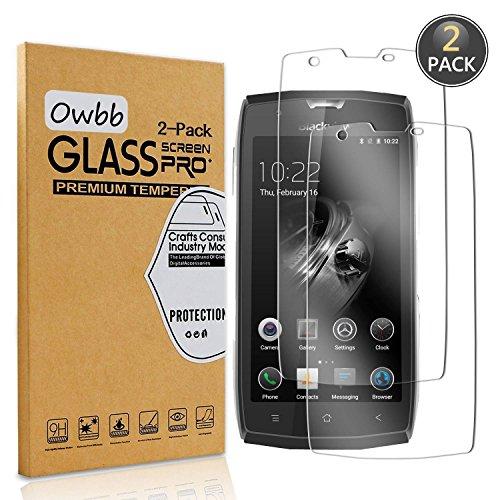 Owbb [2 Pack] Pellicola Vetro Temperato per Blackview BV7000 PRO / BV7000, Glass Screen Pellicola Protettiva 9H Durezza 99% Alta Trasparente 0.26mm 3D Touch Compatibile per Blackview BV7000 PRO
