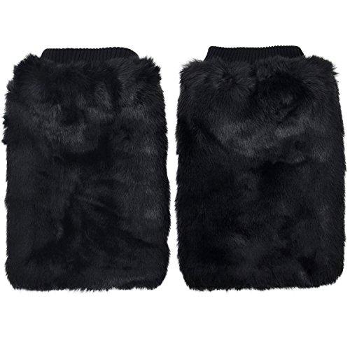 Simplicity Women's Soft Furry Boot Cuff Leg Warmers, 11.5