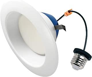 Cree TRDL6-1104000FH50-12DE26-1-11 6 inch retrofit Downlight 100W Equivalent LED Light Bulb, Cool White