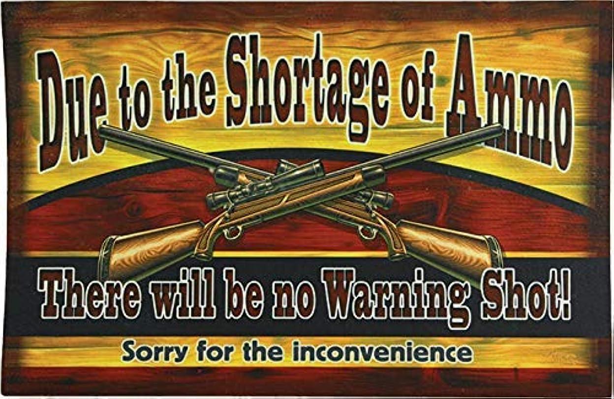 気づく絶えずアラブRiver's Edge Products Shortage of Ammo Door Mat [並行輸入品]
