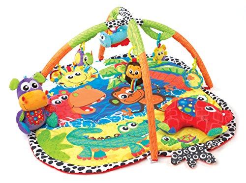 Playgro 0183214giungla Amici un' esperienza di gioco, Multicolore