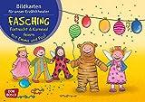 Bildkarten für unser Erzähltheater. Fasching, Fastnacht & Karneval feiern mit Emma und Paul:...