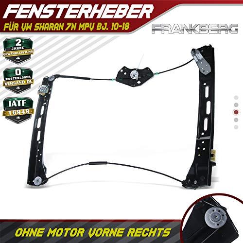 Frankberg Fensterheber Ohne Motor Vorne Rechts f/ür Fabia I 6Y2 6Y3 6Y5 1999-2008 6Y1837462