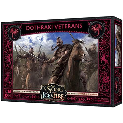Canción de Hielo y Fuego: Juego de miniaturas - Veteranos Dothraki