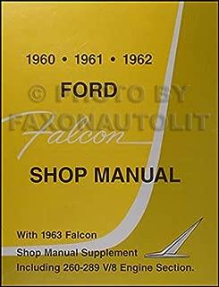 1960-1963 Ford Falcon, Sprint, & Ranchero Repair Shop Manual Reprint