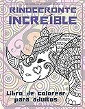 Rinoceronte increíble - Libro de colorear para adultos