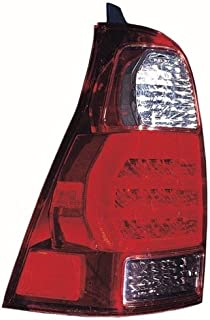 Go-Parts - OE Replacement for 2006 - 2009 Toyota 4Runner Rear Tail Light Lamp Assembly / Lens / Cover - Left (Driver) Side 81561-35280 TO2800172 Replacement For Toyota 4Runner