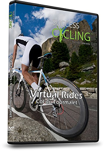 Virtual Rides Col du Tourmalet Cycling Turbo Training DVD