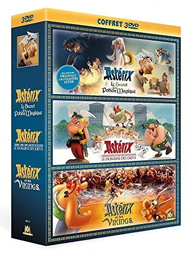 Astérix - Le Secret de la Potion Magique + Le Domaine des Dieux + Astérix et les Vikings [Francia] [DVD]