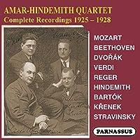 Amar-Hindemith Quartet complete recordings 1925-8