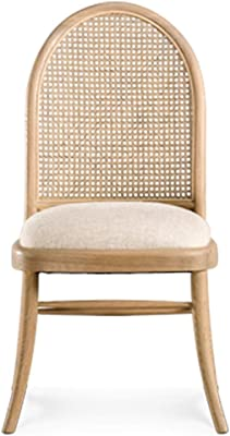 椅子背もたれダイニングチェアモダン木製ratスツール大人の家庭用スツールシンプルなファブリック椅子レストランホテルのリビングルームに適した、45x95cm 椅子 (Size : 45x95cm)