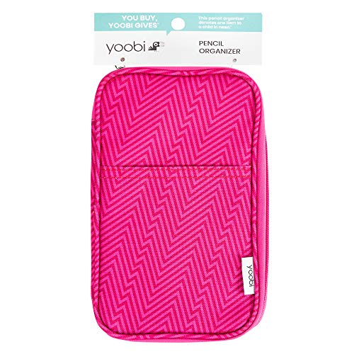 Pencil Case Pink Ziggy - Yoobi™
