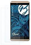 Bruni Schutzfolie kompatibel mit BLU Vivo XL Folie, glasklare Bildschirmschutzfolie (2X)