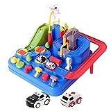 Auto giocattolo avventura prescolare educativo vagone ferroviario genitore-figlio interattivo da corsa giocattolo per bambini puzzle auto pista parcheggio set da gioco per ragazze dei ragazzi