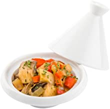 Restaurantware RWC0021 Mini Tajine Porcelain, 3.46 inches,