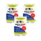 Macu-SAVE Food Supplement for Macular Health with Meso-Zeaxanthin/Lutein and Zeaxanthin -