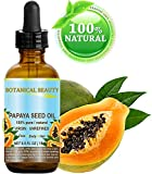 PAPAYA SEED OIL WILD GROWTH. 100% Pure/Natural/Undiluted/Virgin/Unrefined Cold Pressed Carrier Oil. For Skin, Hair, Lip and Nail Care 0.5 Fl. oz. - 15 ml.
