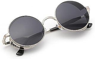 4c8c132475 VENMO Gafas de Sol, Mujeres Hombres Verano Vintage Retro Redondas Gafas de  Color Degradado