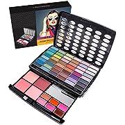 SHANY Glamour Girl Makeup Kit - 48 Eyeshadow/4 Blush/6 Lip Glosses