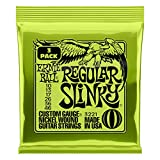 Ernie Ball - Lot de 3 cordes pour guitare électrique Slinky Nickel Wound - calibre 10-46