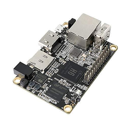 KONGZIR Mini PC Orange Pi One Plus H6 1GB Quad-core 64bit Development Board Support Android7.0 Wood Shaving Tools
