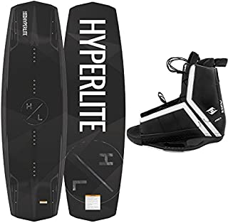 Hyperlite New 2019 Wakeboard Destroyer with Agent Wakeboard Bindings Fits Shoe Sizes 7-14!