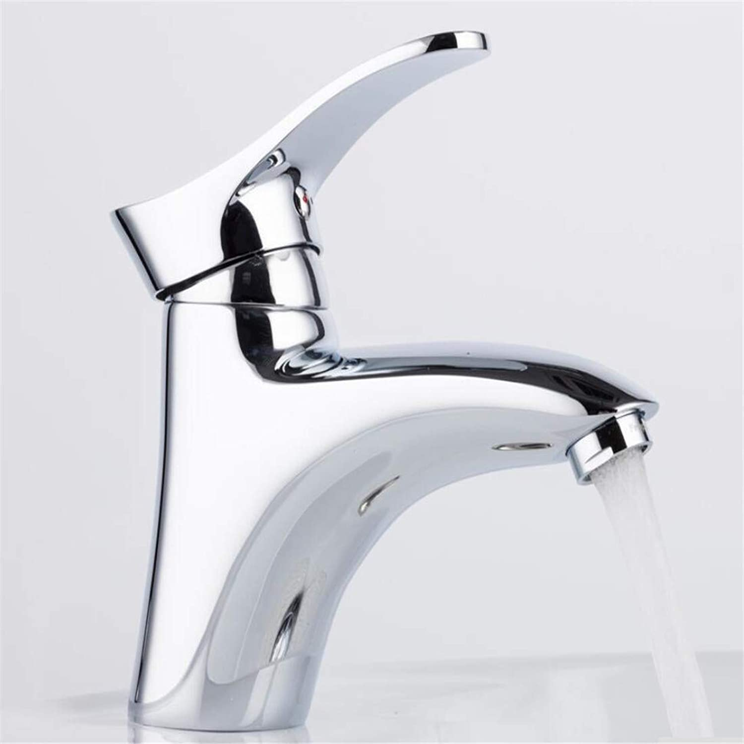360 Degree redating Vintage Brassbrass Bathroom Basin Taps Faucets Mixer Hot and Cold Water Mixer